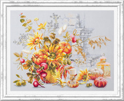 Cross stitch kit Autumn Improvisation - Chudo Igla