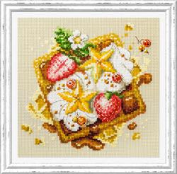 Borduurpakket Viennese Waffles - Chudo Igla