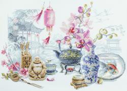Borduurpakket Oriental Serenity - Chudo Igla