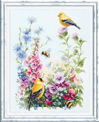 Cross stitch kit Summer Song - Chudo Igla