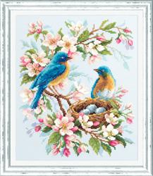 Borduurpakket Spring Song - Chudo Igla