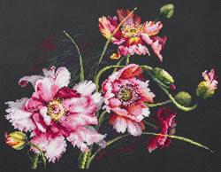 Borduurpakket The Mystery of Poppies - Chudo Igla