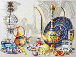 Borduurpakket Bright Colors of Morocco - Chudo Igla
