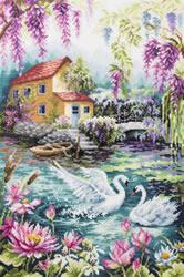 Borduurpakket Dream Lake - Chudo Igla