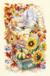 Borduurpakket Autumn Story - Chudo Igla