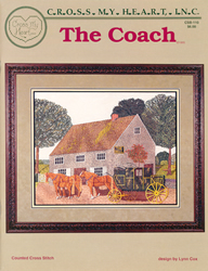 Borduurpatroon The Coach - Cross My Heart