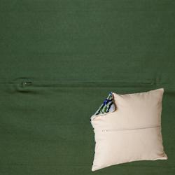 Kussenrug 45 x 45 cm Dark Green - Duftin