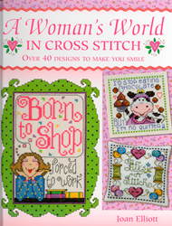 Borduurboek Woman World in Cross Stitch - David & Charles