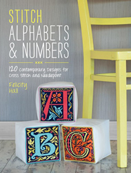 Borduurboek Stitch Alphabet & Numbers - David & Charles