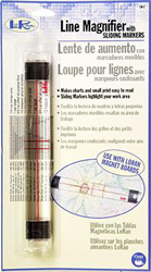 Loran Line Magnifier with Sliding Markers - Prym