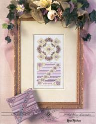 Hardangerpatroon I Will Wear Lavender - Emie Bishop