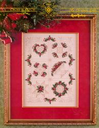 Hardangerpatroon My Christmas Quilt - Emie Bishop