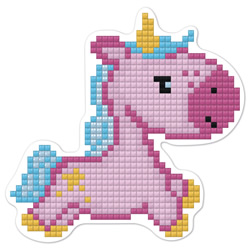 Diamond Painting Fairy Unicorn Magnet - Freyja Crystal
