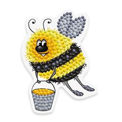 Diamond Painting Bee with Bucket - Freyja Crystal