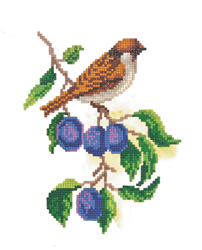 Diamond Painting Sparrow - Freyja Crystal