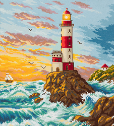 Diamond Painting Lighthouse - Freyja Crystal