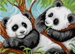 Diamond Painting A Pair of Pandas - Freyja Crystal