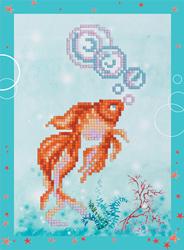 Diamond Painting Goldfish - Freyja Crystal