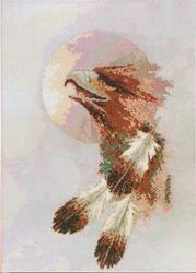 Borduurpakket Eagle Moon - Janlynn