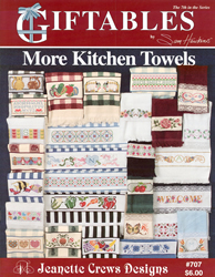 Borduurpatroon More Kitchen Towels - Jeanette Crews Designs