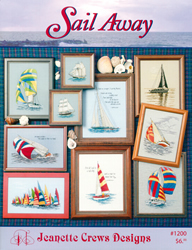 Borduurpatroon Sail Away - Jeanette Crews Designs