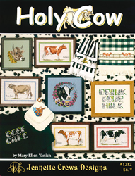 Borduurpatroon Holy Cow - Jeanette Crews Designs