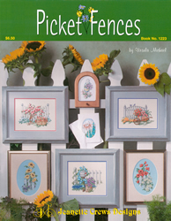Borduurpatroon Picket Fences - Jeanette Crews Designs