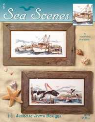 Borduurpatroon Sea Scenes - Jeanette Crews Designs