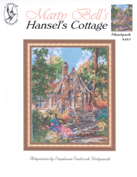 Borduurpatroon Hansel's Cottage - Jeanette Crews Designs
