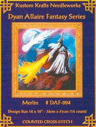 Borduurpatroon Merlin - Kustom Krafts