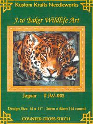 Borduurpatroon Jaguar - Kustom Krafts