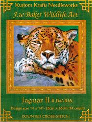 Borduurpatroon Jaguar II - Kustom Krafts