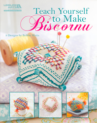 Borduurpatroon Teach Yourself to Make Biscornu - Leisure Arts