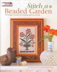 Borduurpatroon Stitch a Beaded Garden - Leisure Arts