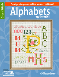 Borduurpatroon Alphabets to Stitch - Leisure Arts