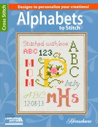 Borduurpatroon Alphabets to Stitch - Leisure Arts