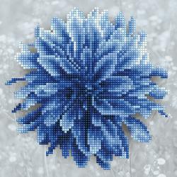 Diamond Art Blue Dahlia - Leisure Arts