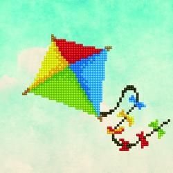 Diamond Art Kite - Leisure Arts