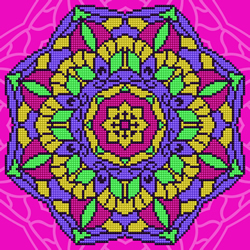 Diamond Art Mandala - Leisure Arts