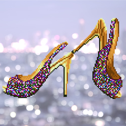 Diamond Art High Heels - Leisure Arts