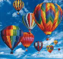 Diamond Art Balloons - Leisure Arts