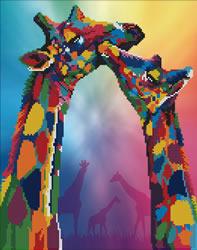 Diamond Art Giraffes - Leisure Arts