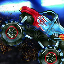 Diamond Art Monster Truck - Leisure Arts