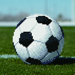 Diamond Art Soccer Ball - Leisure Arts