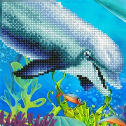 Diamond Art Dolphin - Leisure Arts