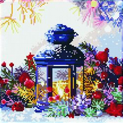 Diamond Art Lantern - Leisure Arts