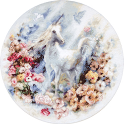 Borduurpakket Unicorn - Leti Stitch