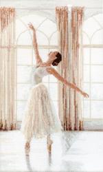 Borduurpakket Ballerina - Leti Stitch