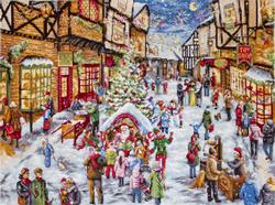 Borduurpakket Christmas Eve - Leti Stitch
