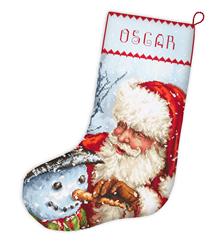 Borduurpakket Christmas Stocking - Leti Stitch